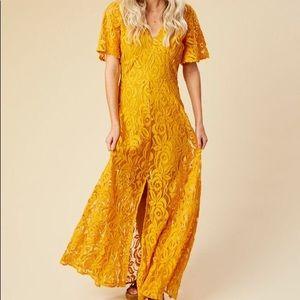 Altard state Renwick maxi dress size medium